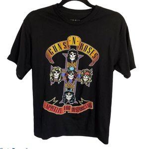 Guns N Roses Band Tee Size M
